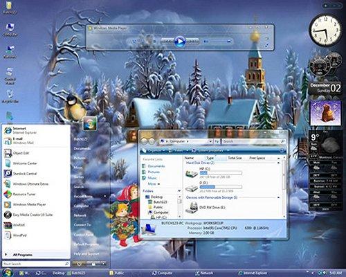 лучшие темы для Windows Xp - фото 10